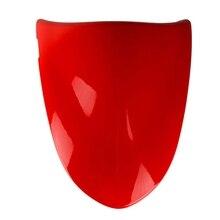 Капот заднего сиденья, капот заднего сиденья мотоцикла обтекатель хвостовой крышки Жесткий ABS Накладка для Kawasaki ZX6R ZX 6R 2005-2006 Красный