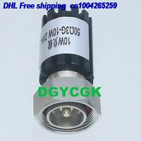 DHL 10pcs DIN 7/16 Watts W Terminação coaxial RF plugue macho 10 MANEQUIM Cargas DC 0 3GHZ 50ohm 22rd|null| |  -