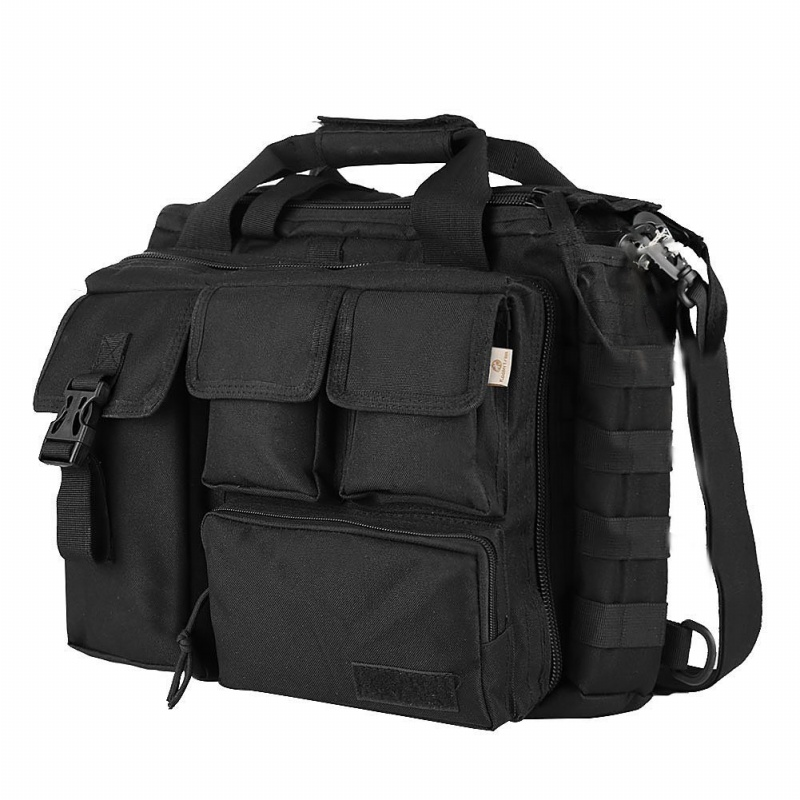 Pro- Multifunction Mens Military  Outdoor Nylon Shoulder Messenger Bag Handbags Briefcase Large Enough For 14