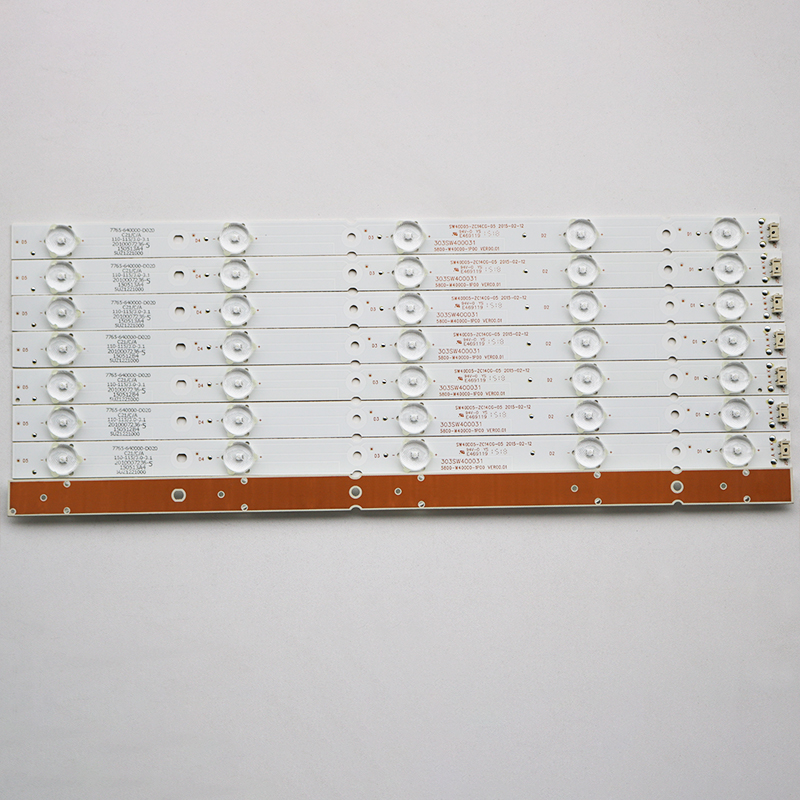 8Pieces/lot  FOR  Skyworth 40E6000   LCD Backlight Bar  40E3000 40X5 40X3   5800-W40000-3P/2P/1P00   38.3CM   100%NEW