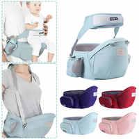 Portador de bebé del bebé cintura heces bebé Sling cinturón de seguridad mochila para los recién nacidos porta bebé canguro bebé cadera caminantes