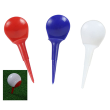 Ornaments-Ball Golf-Holder Training Standing Exercise Practice Outdoor Tee Rubber