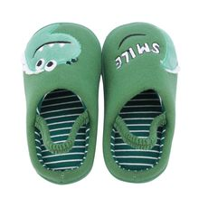 SAGACE Baby Slippers Cute Cartoon Animal Shoes Home Slipers ForToddler Soft Sole Winter Warm Shoes Non Slip Baby Slippers(China)