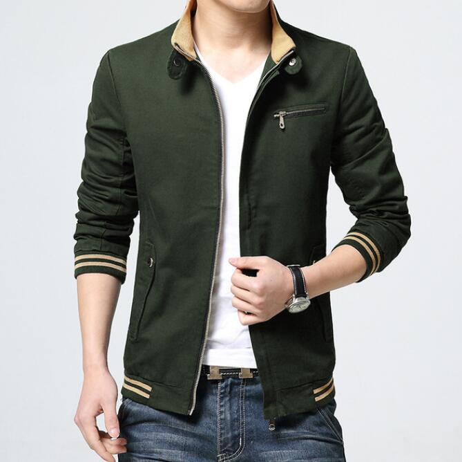 Hot 2020 Men Jackets Coats Spring High Cotton Streetwear Male Outerwear Mens Plus Size Outdoors Bomber Jacket