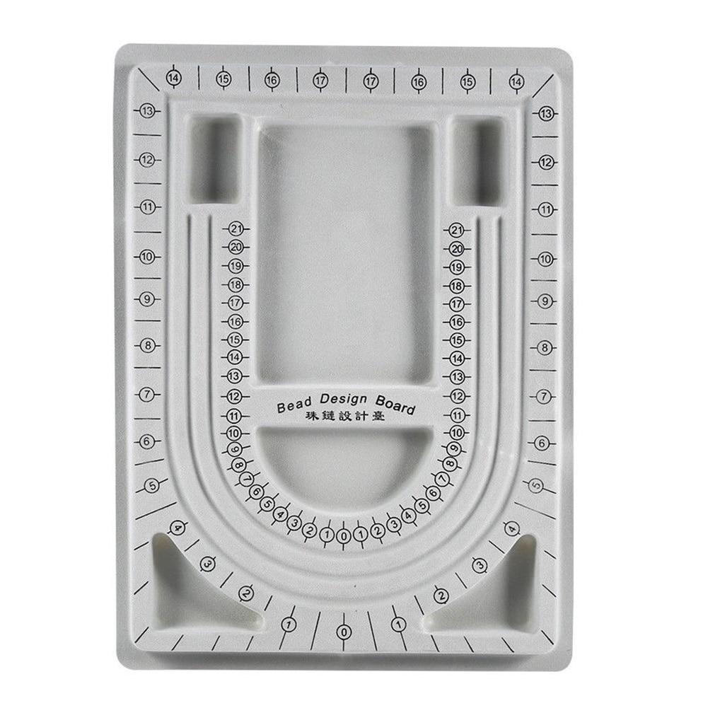 Necklace Bracelet Stringing Organizer DIY Beading Tray Chain Bead Design Board Accessories Craft