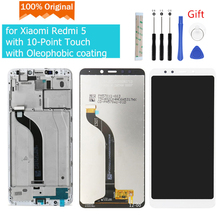 Original for Xiaomi Redmi 5 LCD Display Touch Screen Digitizer Assembly with Frame for Xiaomi Redmi 5 display repair Parts