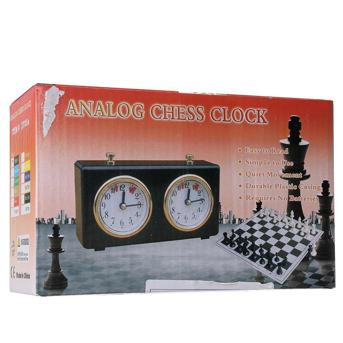 Professional LEAP DT05ah Analog หมากรุกนาฬิกาสำหรับหมากรุก/I-GO Count UP Down ALARM TIMER สำหรับการแข่งขันเกมโลหะ
