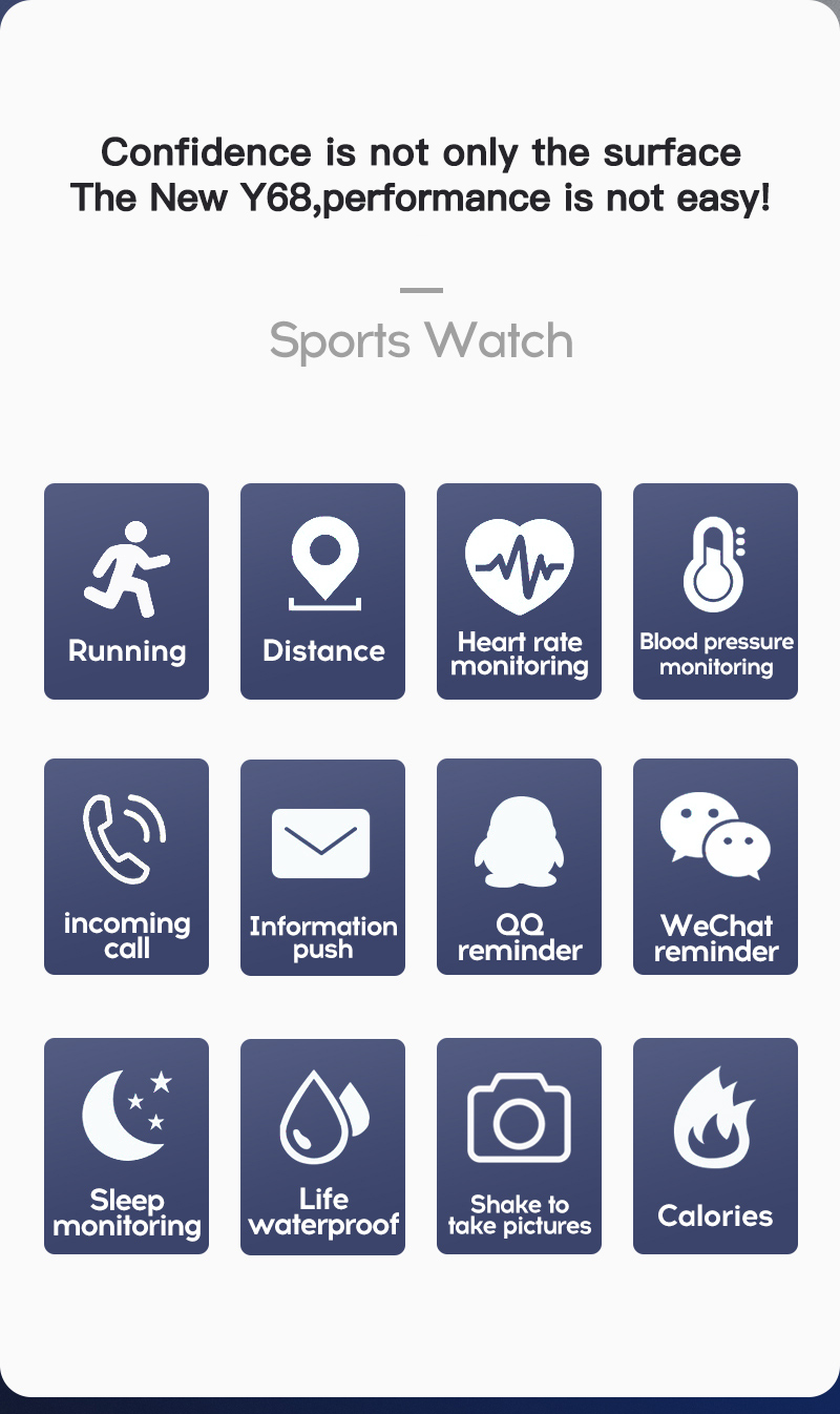 H6fe8c42ff658444ab61e44d85835c0316 Smart Watch Blood Pressure Smartwatch Tracker Heart Rate Fitness