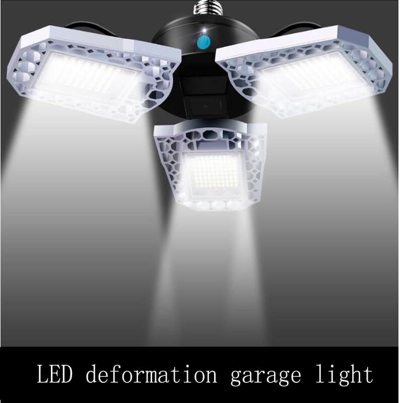 New Super Bright Industrial Lighting E27 Led Garage Light Lamp SMD2835 Led High Bay Industrial Lamp For Workshop With Sensor