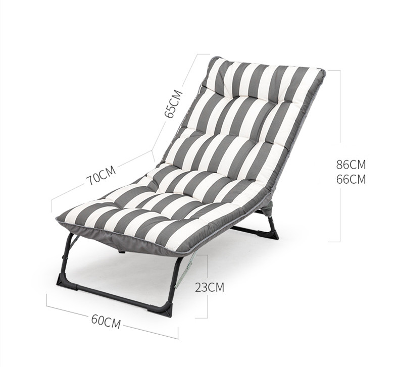 Folding Sofa Bed Lazy Lounge Chair Adjustable Backrest Living Room Sofas Home Furniture Garden Beach Chair Couch High Quality