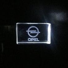 Usb2.0 металлическими элементами и стразами ключ для автомобиля Opel Модель USB флэш-накопитель 4 ГБ 8 ГБ 16 ГБ оперативной памяти, 32 Гб встроенной п...