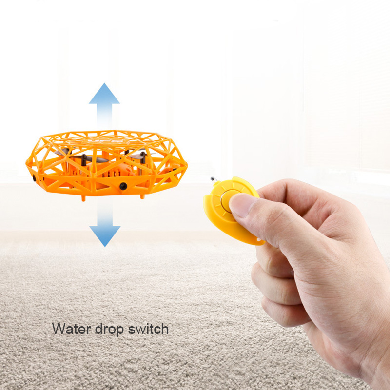 Mini Flying Helicopter UFO RC Drone 360° Rotating Smart Mini UFO Drone for Kids Flying Toys Best For Kid Birthday Xmas Gfit