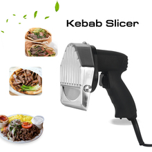 Kebab Slicer Shawarma Machine Kitchen Knife Doner Cutter Gyros Electric Meat Cutter Machine With two blades