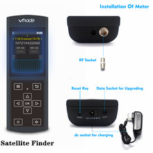 Цифровой спутниковый искатель Vmade, Full HD 1080P, цифровой спутниковый искатель, Satlink DZ6730, Sat Finder Meter V8 Super V7, DVB S2