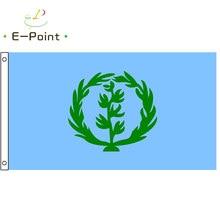 Bandeira histórica da eritreia 1952-1962 2ft * 3ft (60*90cm) 3ft * 5ft (90*150cm) tamanho decorações de natal para bandeira de casa