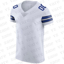 Customize Men New American Football Jerseys Dak Prescott Amari Cooper Deion Sanders Ezekiel Elliott E Smith Cheap Dallas Jersey