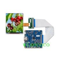 3.5 inch IPS 1440x1600 LPM035M407B LCD Screen Mipi HDMI Drive Controller Board Display For HMD VR AR DIY