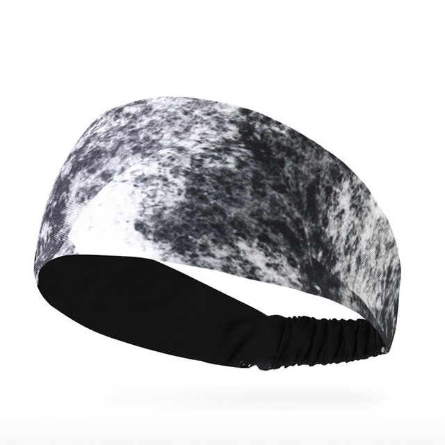 Lyca Absorbent Cycling Yoga Sport Sweat Headband Men Sweatband For Men and Women Yoga Hair Bands Head Sweat Bands Sports Safety 2