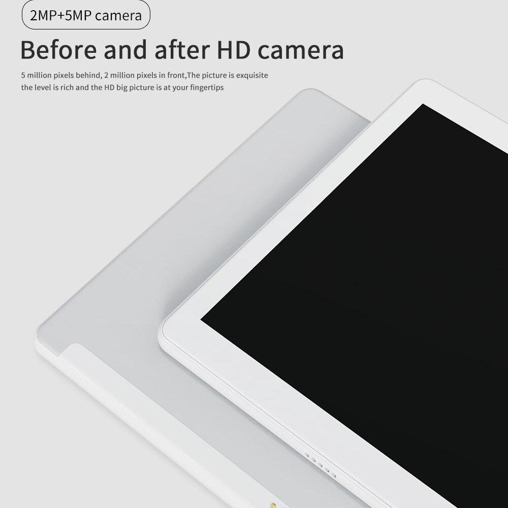 כיריים שניי להבות ANRY 10 אינץ Tablet Android 7.0 64 GB אחסון אוקטה Core processo צג IPS HD Wi-Fi Bluetooth שחור / זהב / כסף 4G התקשר לטלפון (5)