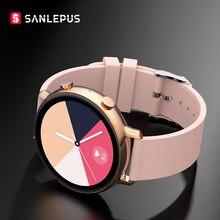 Смарт-часы SANLEPUS ECG для мужчин и женщин, водонепроницаемые Смарт-часы с функцией звонков, пульсометром, для Android, Samsung SW33, новинка 2021
