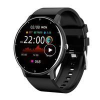 2021 ZL02 Smartwatch Herz Rate Blutdruck Monitor Wetter Prognose IP67 Männer Frauen Uhren Fitness Armband Für Android Ios