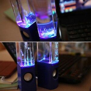 Image 5 - אלחוטי רוקד מים רמקול LED אור מזרקת רמקול בית המפלגה SP99