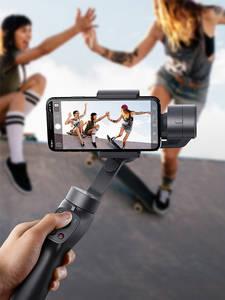 Baseus Selfie-Stick Gimbal-Stabilizer Action Camera Outdoor-Holder Handheld iPhone 3-Axis