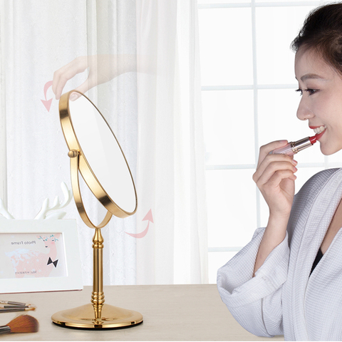 espelho de mesa vaidade europeu portatil espelho