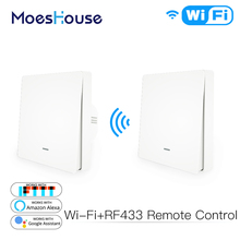 Transmitter-Kit Tuya Alexa Wifi Smart Google Home Switch App-Control RF433 Wall-Panel