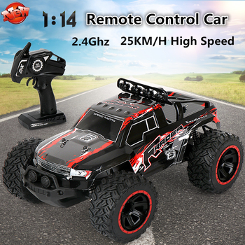 Rechargeable Electric RC Toy Short Card Remote Control Off-Road Racing Car 2.4G 80M 2WD Independent suspension RC Climbing Car