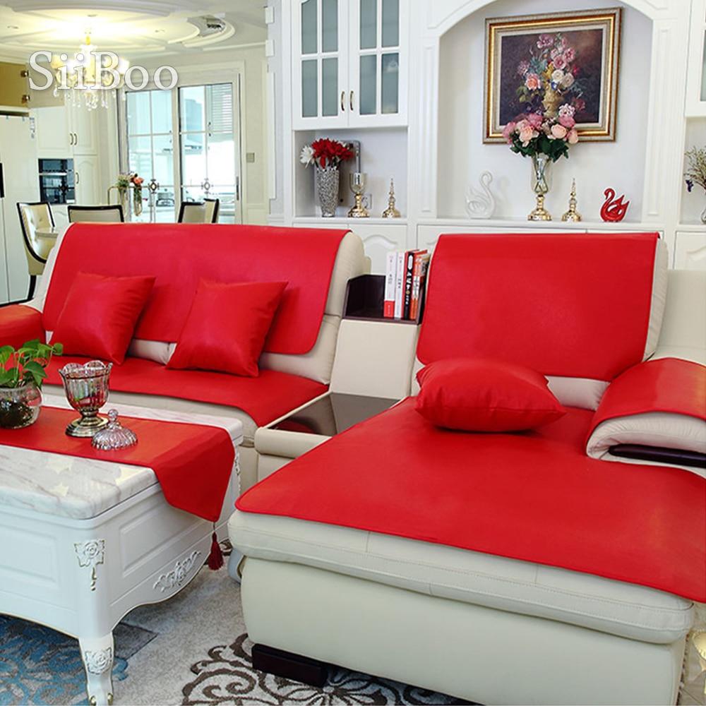 Pu Leather Sofa Cover