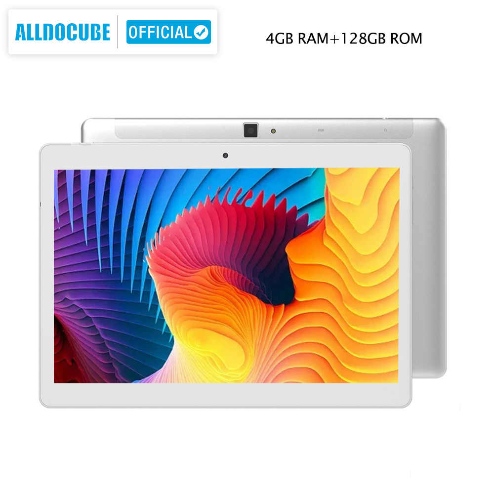 ALLDOCUBE M5X Pro 10,1 zoll Tablet Android 4GB RAM 128GB ROM MTK X27 4G LTE 10 Core anruf Tabletten PC 2560*1600 IPS