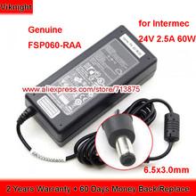 Oryginalne FSP060-RAA 60W ładowarka 24V 2 5A Adapter AC dla Intermec PC43D moc drukarki dostaw tanie tanio viknight Rohs CN (pochodzenie) 24 v 1 x US EU UK AU Power Cord Fit Your Country