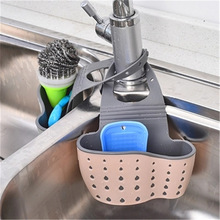 Rack-Basket Organizer Drain-Holder Soap-Shelf Cloth-Tools Sponge Toilet Rubber Wash Kitchen