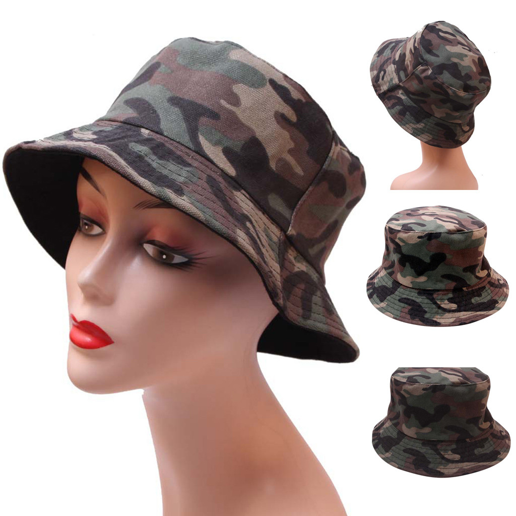 Camouflage Summer Women Caps Visor Protection Casual Outdoor Sun Hats Tactic Men Sun Hats Sombreros De Playa Para Mujer #30