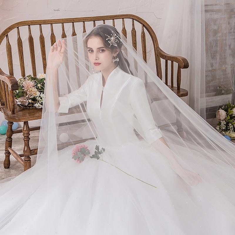 Wedding Dress Tulle Fabric Encryption Color Soft Tulle Wedding Scene Decoration Background Studio Creative Fabric WAS10177