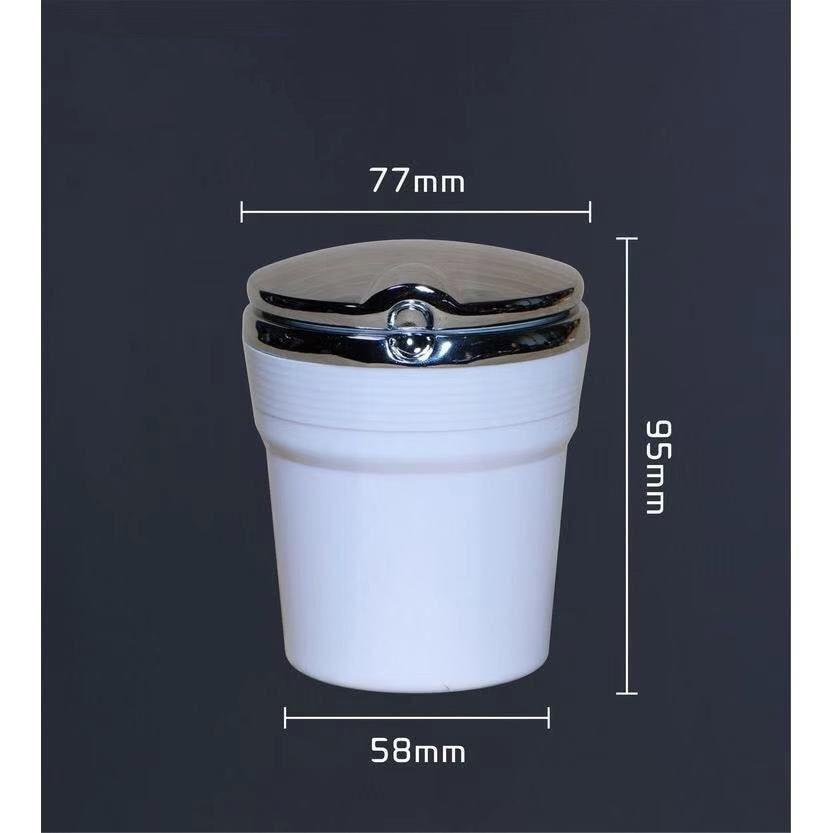 cheapest 1Pc Car Interio accessories Car logo ashtray Cigarette Smoke Holder car ashtray for Mercedes Emblem benz w205 w203 w124 w204