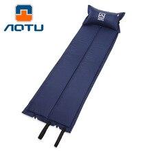 Bump с подушкой Автоматическая надувная подушка коврик для влаги коврик для палатки спальный коврик для кемпинга воздушная подушка AT6204 поперечная граница