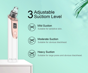 Image 5 - ANLAN Blackhead Remover Face Deep Pore Cleaner Acne Pimple Removal Vacuum Suction Facial SPA Diamond Beauty Skin Care Clean Tool
