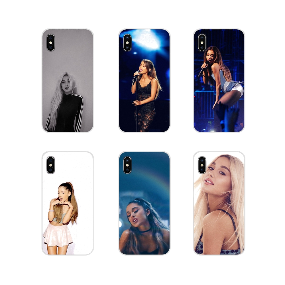 For Samsung <font><b>Galaxy</b></font> S2 S3 <font><b>S4</b></font> S5 <font><b>Mini</b></font> S6 S7 Edge S8 S9 S10E Lite Plus Ariana Grande <font><b>sexy</b></font> beauty singer Accessories Phone Skin Case image