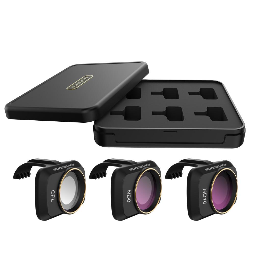 Sunnylife Lens Filter For DJI Mavic Mini Drone Neutral Density Polar UV CPL ND 8 16 32 Camera Lenses Filters Set For Mavic Mini