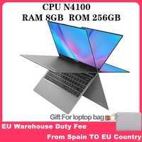 "Teclast F5 ordinateur portable Intel Gemini Lake N4100 Quad Core 8GB RAM 256GB SSD Windows10 360 écran tactile rotatif 11.6 ""ordinateur portable"