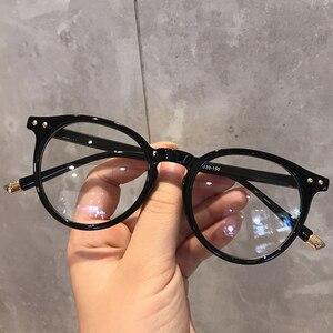 Imwete модная оправа для очков для женщин, винтажный синий светильник, компьютерные мужские очки, круглые оптические очки