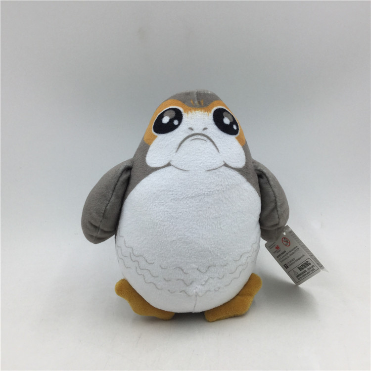 1 Piece 18cm Cute Star War New Porg Bird Plush Toys Doll For Kids Gifts Birthday