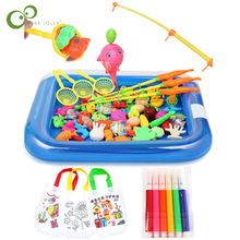 Fishing-Toy-Set Water Baby Toys Play Magnetic Kids Children for YJN Suit Hot-Gift Girl