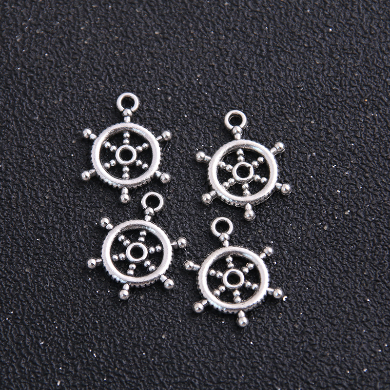 New York Charm//Pendant Tibetan Antique Silver 15mm  10 Charms Accessory Crafts