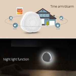 Image 4 - Fuers WiFi Gateway Alarm System Tuya APP control Intelligent night light Smart home security system smart doorbell
