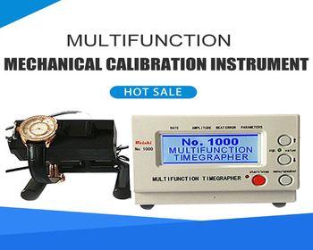 No.1000 Timegrapher Watch Tester Mechanical Watch Timing Machine Calibration Repair Tools US Plug 110-220V