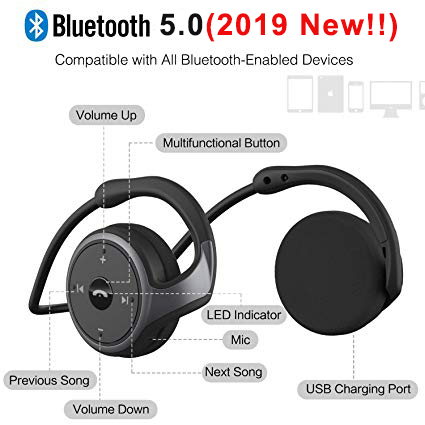cheapest Car Wireless Earphone V10 Business Bluetooth Headphone Fast Charging Driver Handsfree Earphone with Mic Voice command for Iphone