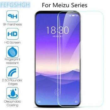 Перейти на Алиэкспресс и купить 2 шт. закаленное стекло для Meizu Note 9 8 C9 Pro M8 Lite X8 V8 M8C M6T M6S 16S 16XS M 8C V 8 6T 6S Защитная пленка для экрана